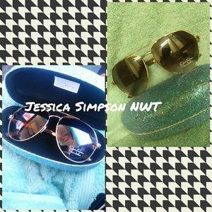 Jessica Simpson Oversized Sunglasses